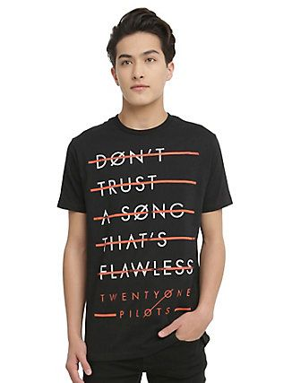 Twenty One Pilots Don't Trust T-Shirt,