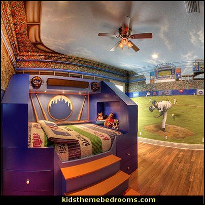 Baseball Bedroom Decorating Ideas And Themed Decor