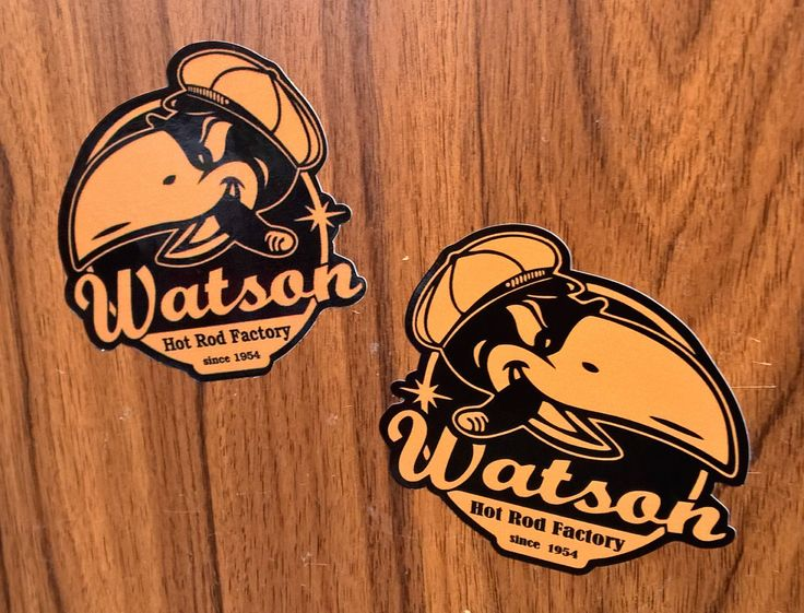Aufkleber sticker set watson oldschool retro hot rod rockabilly