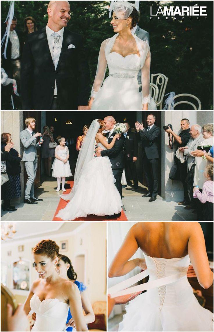 Benicarlo esküvői ruha 2012 Pronovias kollekció - Ildi menyasszony by La Mariee Budapest esküvői szalon http://lamariee.hu/eskuvoi-ruha/pronovias-2013/benicarlo