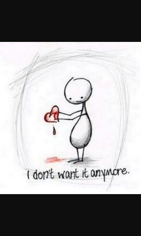 Gebroken hart...
