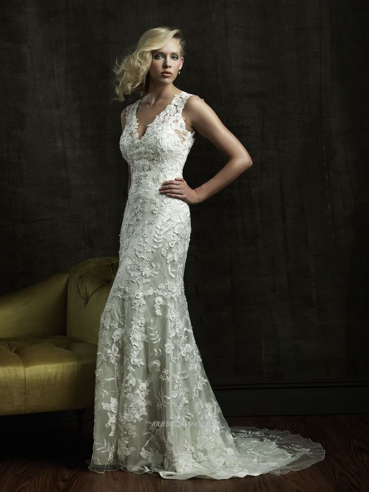 Spectacular Silver Wedding Vow Renewal Dress White V Neck Highlight
