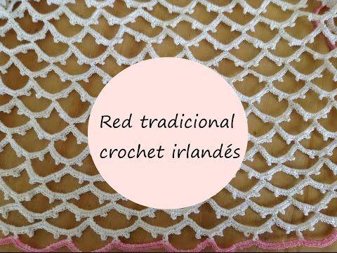 Crochet irlandés: Aprende todos los secretos para tejer una red irregular paso a…
