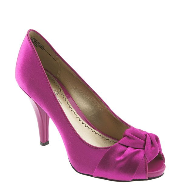 If The Shoe Fitswear It Fuschia Weddingshoe