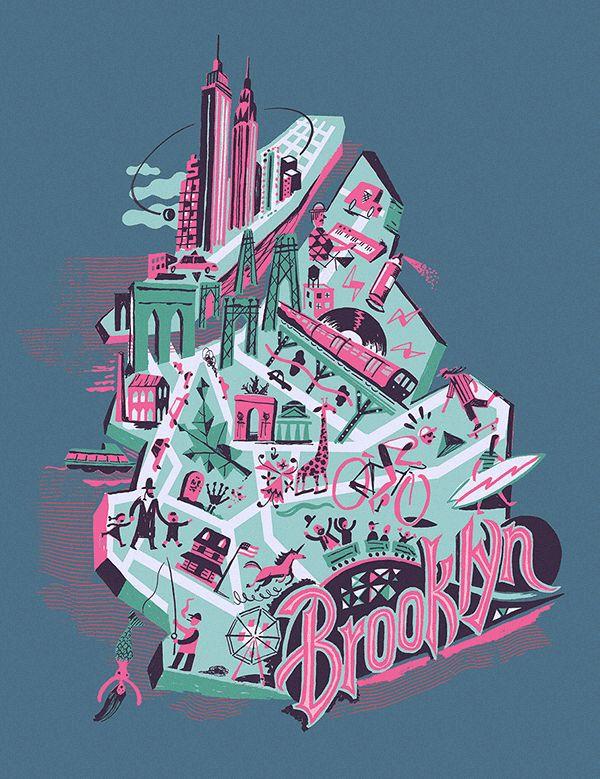 Brooklyn Industries T-shirts on Behance
