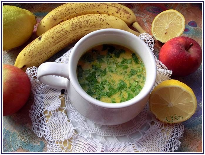 """Lecker mit Geri: Mulligatawny-Suppe """"Pfefferwasser"""" - Пилешка къри супа"""