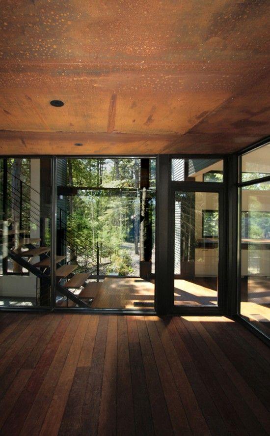 Vsledek obrzku pro rusty sheet metal architecture