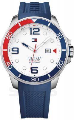 Amerykański design – zegarek #TommyHilfiger #TommyHilfigerWatch #blue #red #white #fashion  #zegarek #watch #butiki #swiss #butikiswiss