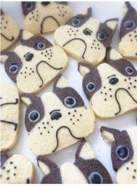 かわいい簡単!犬のアイスボックスクッキー by プクル [クックパッド] 簡単おいしいみんなのレシピが233万品