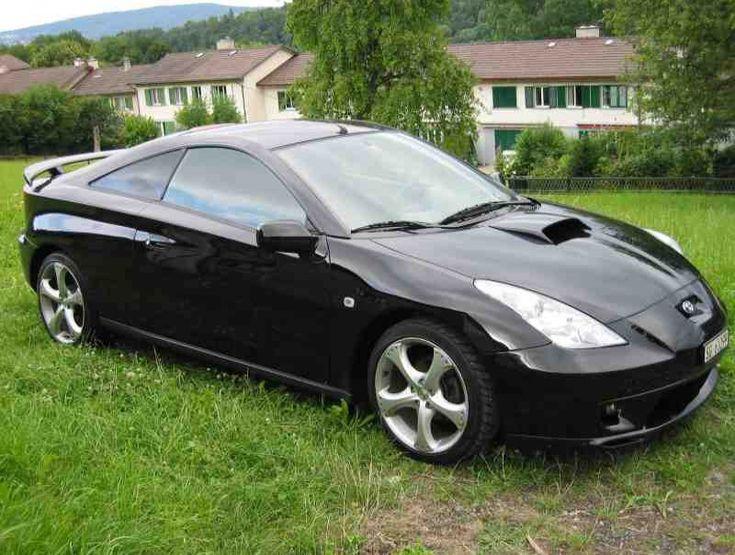 Black Toyota Celica