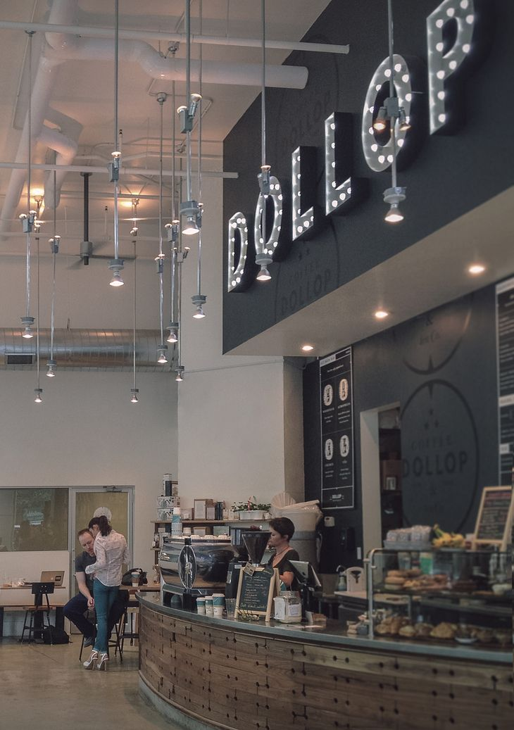 Dollop coffee / Firebelly Design