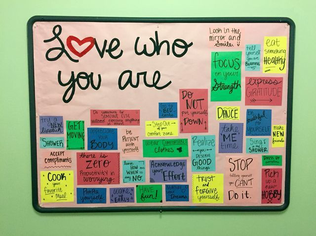 Self Love Bulletin Board