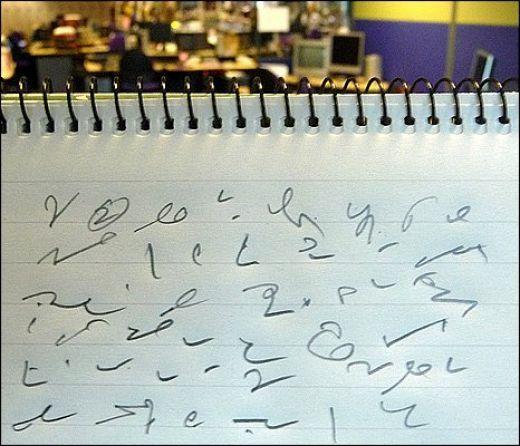 Speedwriting vs AlphaHand - Gregg Shorthand
