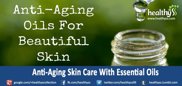 #AntiAging #SkinCare With #Essential Oils