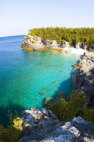 How I love the turquoise waters of Georgian Bay!!!