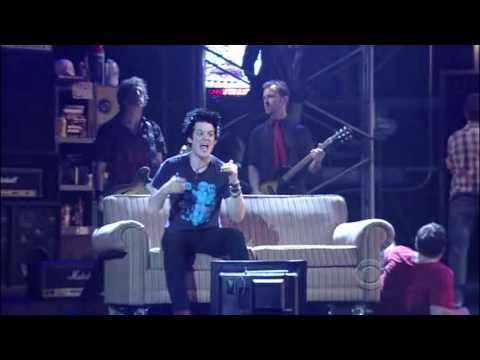 """What an oversight! Embarrassing! Jon Gallagher, Jr., the wonderfully multi-talented performer and overall charmer, here in """"American Idiot"""" at the Tony Awards. Starts on 1:28 so you can skip the poorly delivered introduction. It's a little loud, well, it's Green Day, but get to the performances which are top-notch. Oh, that's Stark Sands in there, too."""