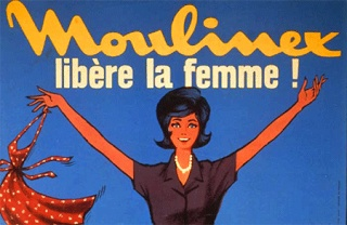 Publicit moulinex 1950 visant la femme au foyer for Femme au foyer 1950