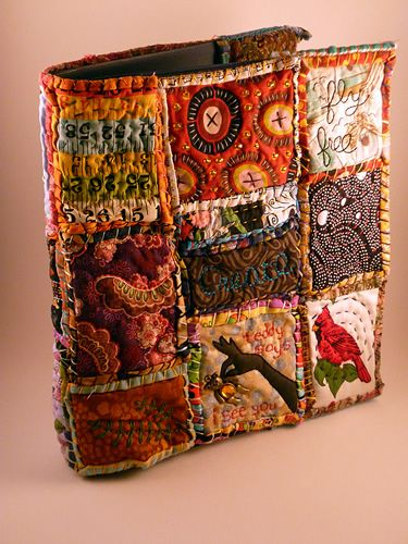 Photo Book Cover Material : Best images about fabric books on pinterest