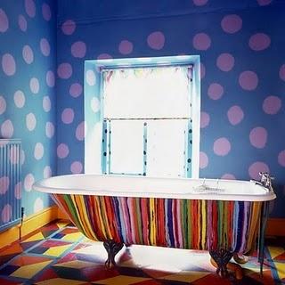 29 best omg rainbow bathroom images on pinterest - Funky bathroom accessories uk ...