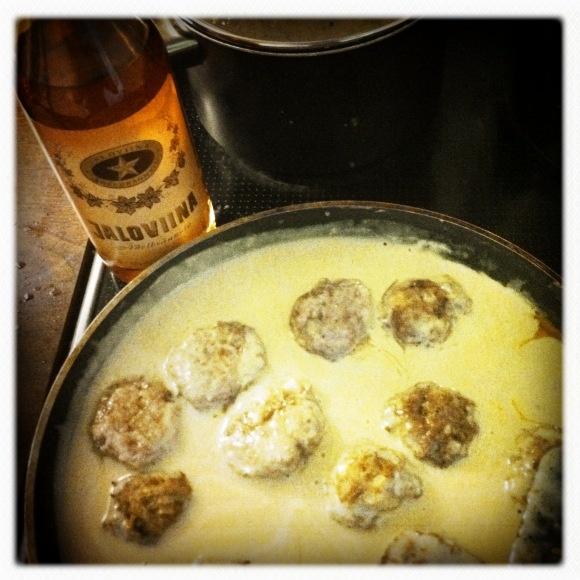 Jallupullat aka Noble Booze Meatballs