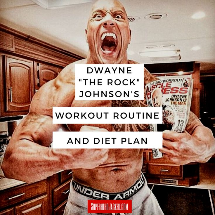 """Dwayne """"The Rock"""" Johnson's Workout Routine and Diet: How the Sexiest Man Alive Trains to be Superhero Jacked!"""