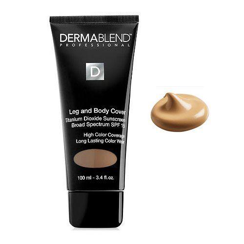 Dermablend Leg and Body Cover Make-Up SPF 15 Order at Promakeuptutor.com #discounts #makeup #makeupforever #promakeuptutor #makeupgeek #sale #sales  #shopping #shoppingonline