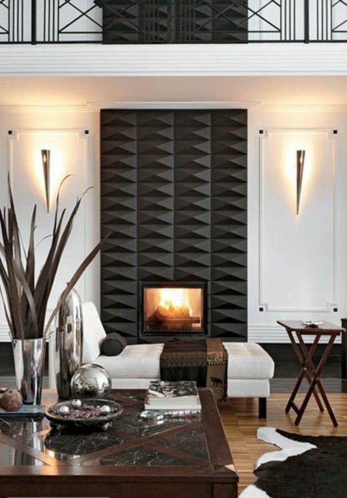 Gemütliches Wohnzimmer Gestalten 30 Coole Ideen: Ein ...