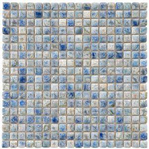 Image Of Blue Ceramic Floor Tile building materials flooring flooring materials ceramic floor tile