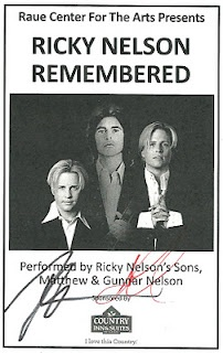 Happy Birthday remembrance for Rick Nelson - Born 5/8/1940 - Ricky Nelson Remembered starring Matthew and Gunnar Nelson