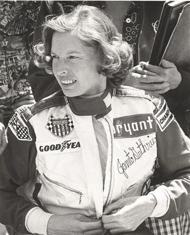 The first woman ever to compete   in the Indianapolis 500 and the Daytona 500,   Janet Guthrie had a diversified  background.