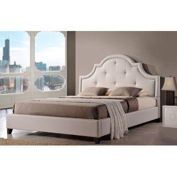 Norwich Upholstered Platform Bed & Reviews | Joss & Main