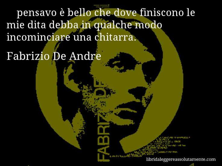 Cartolina con aforisma di Fabrizio De Andre (10)