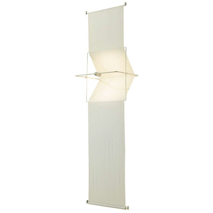 """Rare """"Quinta"""" lamp and room divider by Silvio Coppola, Artemide, Italy, 1970s   From a unique collection of antique and modern floor lamps at https://www.1stdibs.com/furniture/lighting/floor-lamps/"""