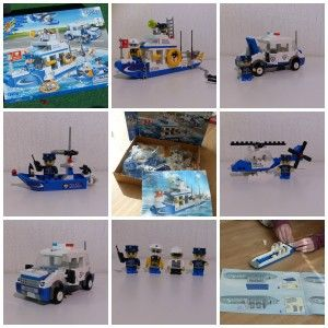 Banbao Politie Kustwacht (8342)  Lego