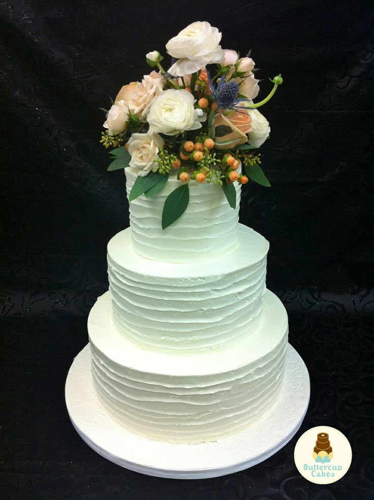 Rustic Wedding Cake   Wedding Cakes   Pinterest - photo#21