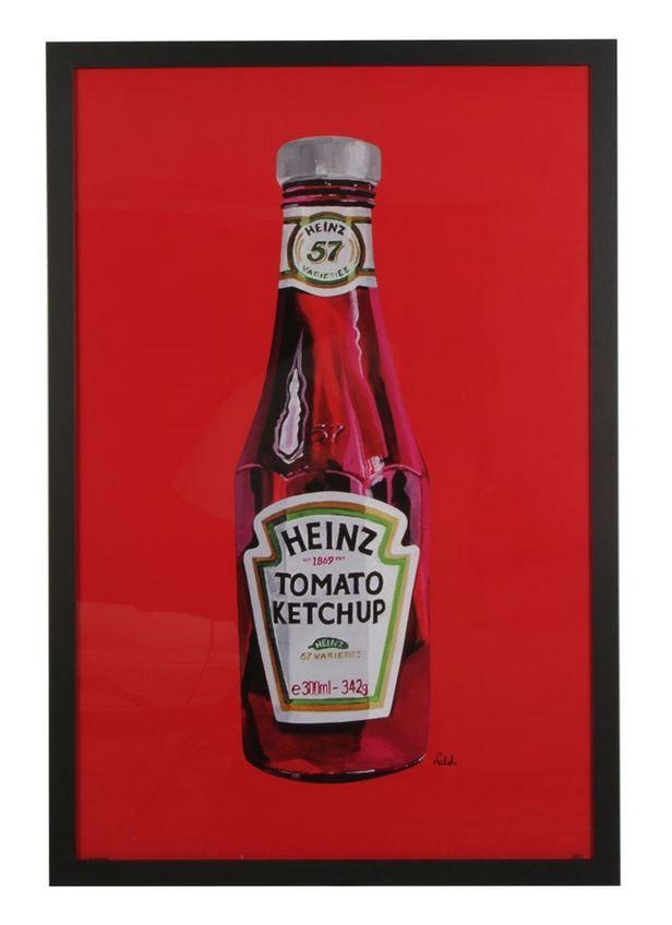 Heinz Ketchup Bottle Framed Poster 66 X 96 Wall Art
