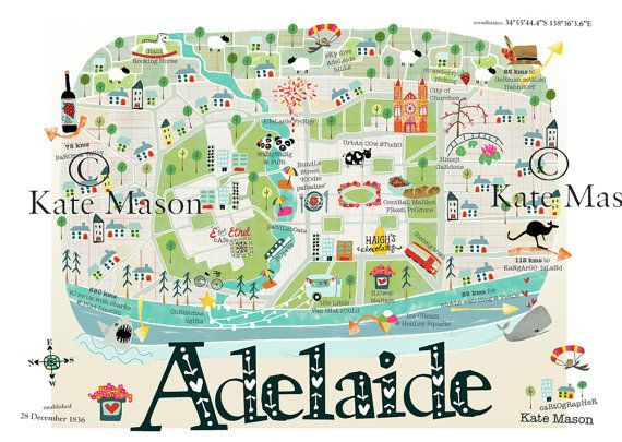 Hey, I found this really awesome Etsy listing at https://www.etsy.com/listing/168074997/adelaide-map-print
