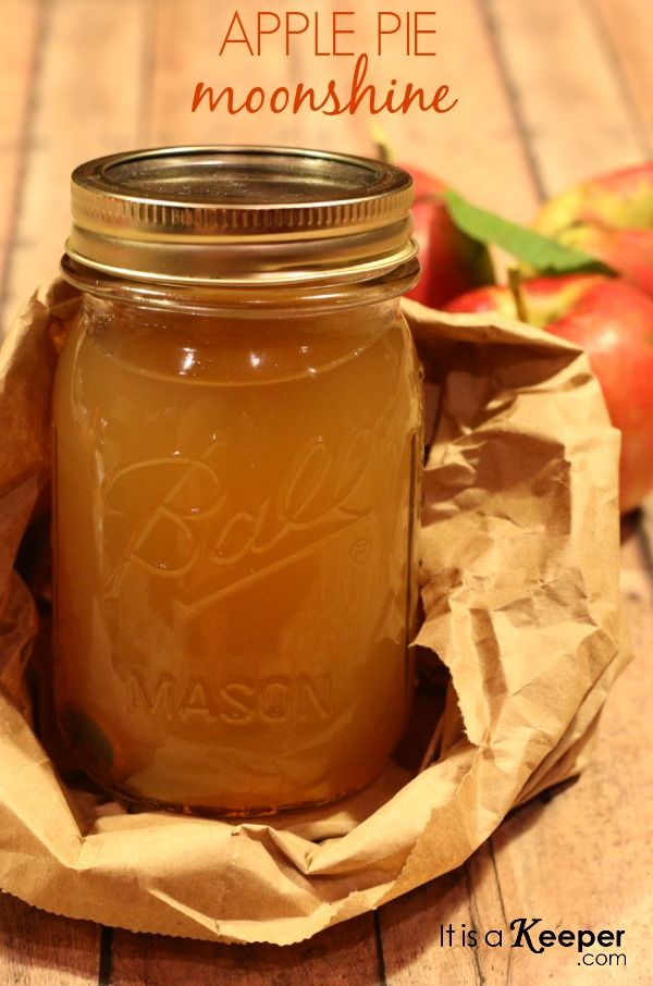 Apple Pie Moonshine - It's a Keeper. You can even add Peach Vodka in with the Everclear YUMMMMMMMM