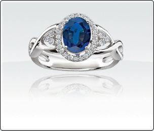 Sapphire & Diamond Ring  http://www.rogersandhollands.com/jewelry/view/Sapphire-Diamond-Ring/6198861