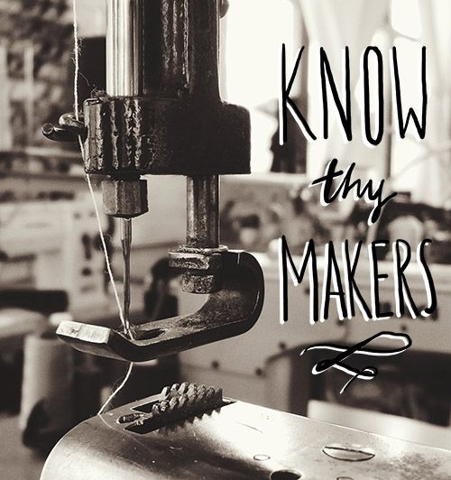 Essay by Maxwell Tielman : : The Consumption Conundrum: Connecting With Makers and Making Mindful Purchases : : Design Sponge