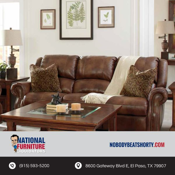 Give Your Home A Modern Update With A Great Selection Of Leather Options At  National Furniture Liquidators! We Have Quality Selections At Quality  Prices, ...