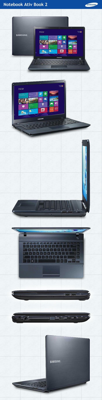 Notebook samsung lançamento 2013 - Este Notebook Samsung Ativ Book 2 Super Moderno E Tem