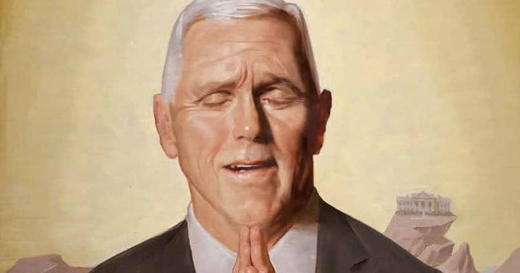 Mocking Pence for hearing voices is not religious intolerance