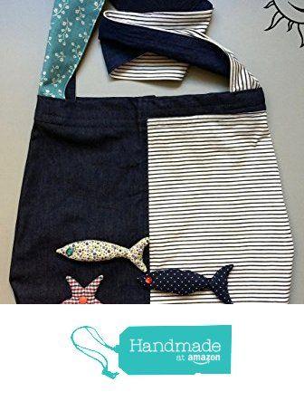 BORSE SOLELUNA - grande borsa a tracolla di stoffa jeans e fantasia - pezzo unico fatto a mano da Soleluna handmade creations https://www.amazon.it/dp/B0711WSYWM/ref=hnd_sw_r_pi_dp_vzjmzb2D0NSNC #handmadeatamazon