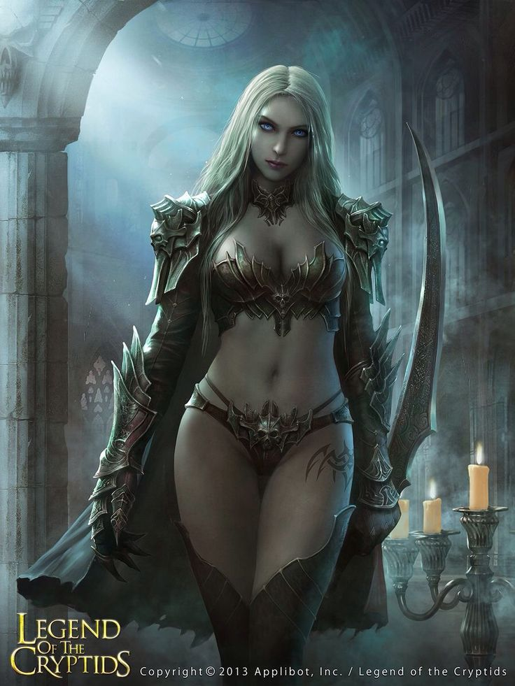 Fantasy nudes elf vampire assassin