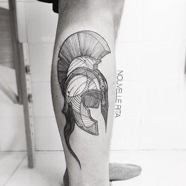 #legtattoo by @nouvellerita /// #Equilattera #tattoo #Tattoos #tattooed…