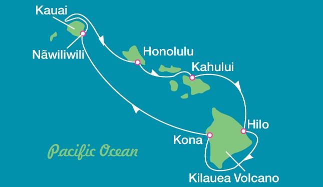 Take a Hawaiian cruise