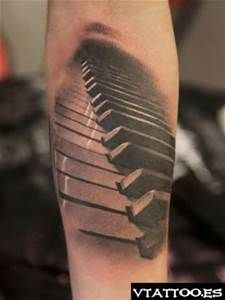 Cool Piano Key Tattoos - Bing images
