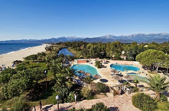 Camping Corse Carrefour Voyages, promo location Ghisonaccia Camping Arinella 5* prix promo Carrefour Voyages à partir 278.00 € TTC 7N