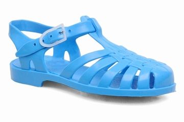Meduse PVC waterschoenen blauw